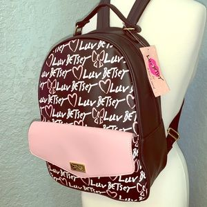 🆕Betsey Johnson • Large Backpack